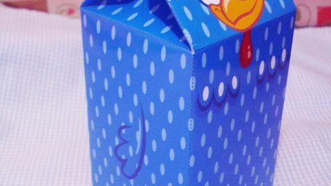 کاردستی جعبه کادویی
