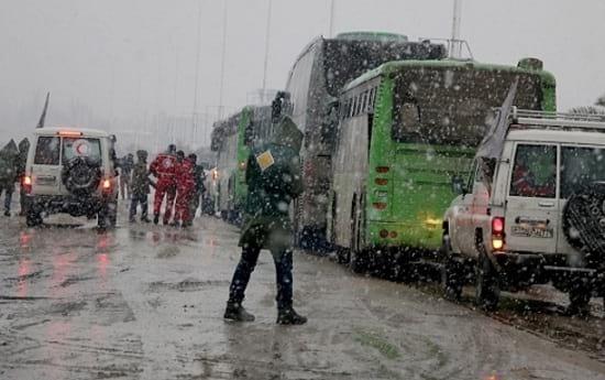 Evacuation of Civilians in Syria