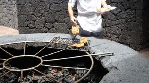 رستورانی که با گرمای آتشفشان غذا می پزد!