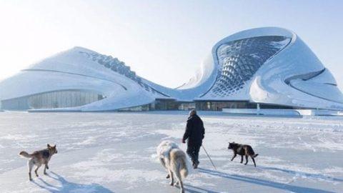 ۱۲ ساختمان متفاوت و مدرن در چین!