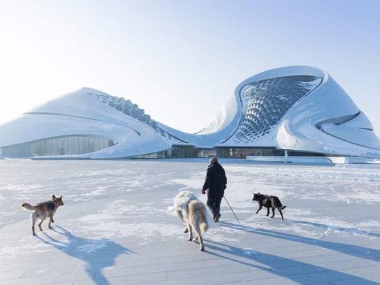 12 ساختمان متفاوت و مدرن در چین!