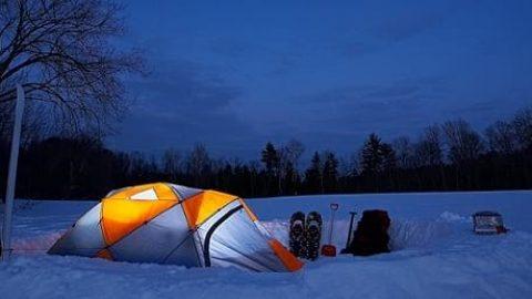چگونگی کمپ زدن در زمستان!