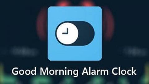 دانلود Good Morning Alarm Clock؛ آلارم حرفه ای
