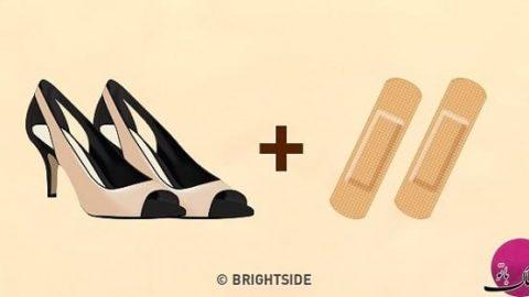 ده روش شگفت انگیز برای اندازه شدن کفش تنگ