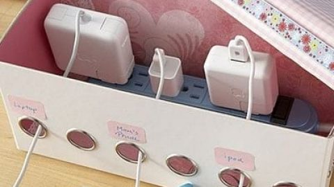 کاردستی جعبه شارژر