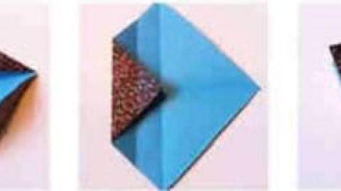 کاردستی جعبه کاغذی