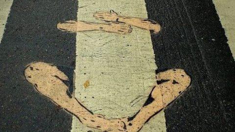 خط کشی های دیدنی خیابان ها!