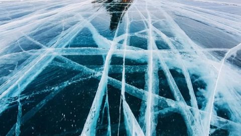 نگاهی به زیبایی های بی نظیر دریاچه بایکال در روسیه!