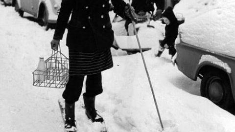 تصاویری قدیمی از روزهای زمستانی انگلستان