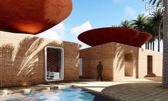ساختمان هایی با سقف های کاسه ای