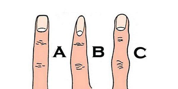 شخصیت شناسی مردان و زنان از روی انگشت های دست!