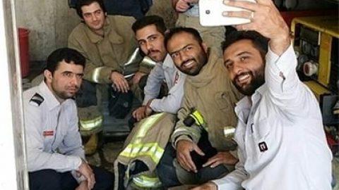 تصاویر منتشرنشده از اولین شهید حادثه پلاسکو