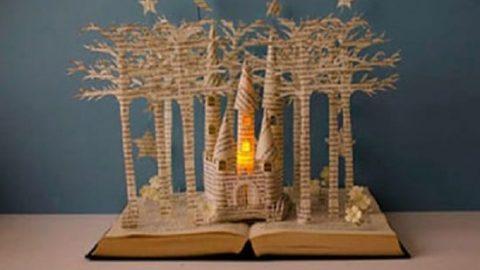 دکوراسیونی مخصوص عاشقان کتاب!