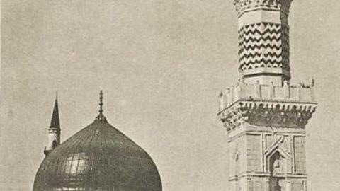 تصاویری نادر از مدینه نبوی در ۱۰۰ سال پیش!
