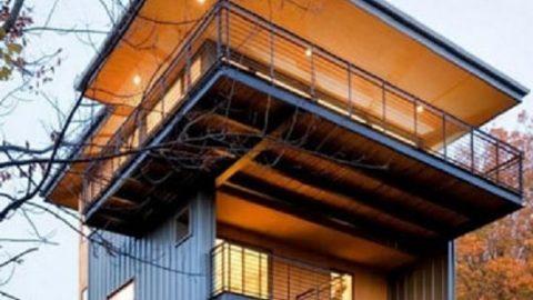 ساختمانهایی با معماری جالب و خاص!