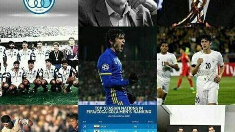 ۹ پست پرطرفدار کنفدراسیون فوتبال آسیا در سال ۲۰۱۶