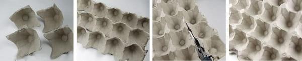 کاردستی با جا تخم مرغی گل رز بسازید