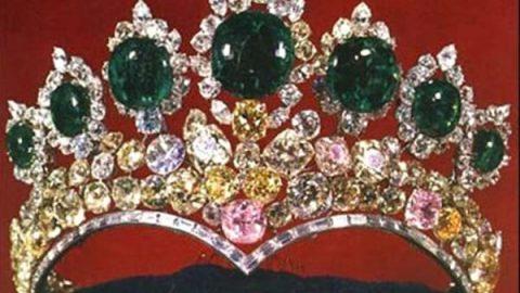 تاج محبوب همسر پادشاه ایران از جنس الماس