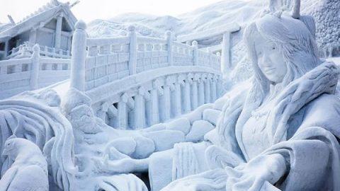 جشنواره برف در ساپورو ژاپن!
