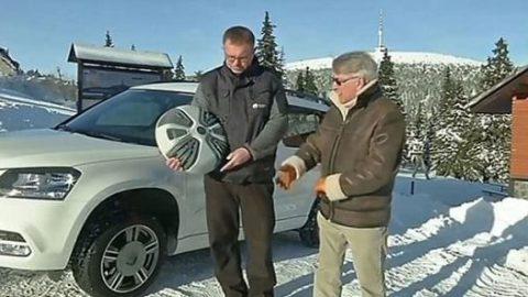 رانندگی در برف با این اختراع جالب و کاربردی!