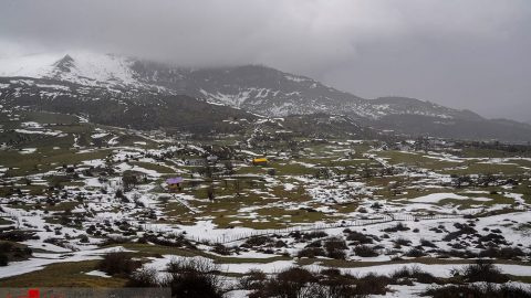 طبیعت برفی مازندران