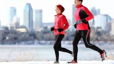 ۵ فایده ورزش در هوای سرد زمستان!