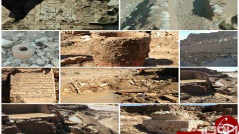 کشف یک قبرستان در سیلاب شیراز