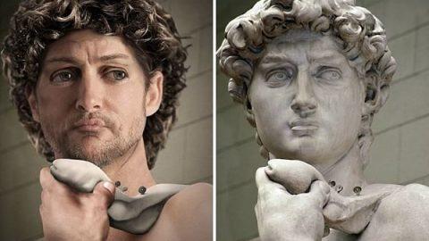 نگاهی به مجسمه داوود، اثر میکل آنژ