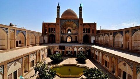 مسجد و مدرسه آقا برزگ کاشان (۳)
