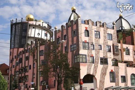 معماری عجیب و غریب نقاش اتریشی