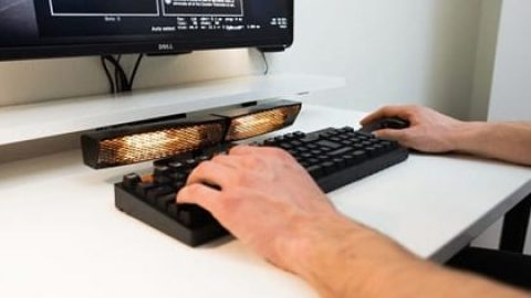 ساخت گرم کن برای صفحه کلید کامپیوترها به منظور تایپ سریع تر