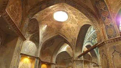 حمام تاریخی سلطان امیراحمد از منحصر بفردترین حمام های ایران(۵)