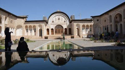خانه طباطبایی کاشان؛ آمیزهای زیبا از هنر و معماری ایرانی(۶)