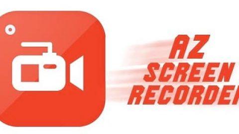 فیلمبرداری از صفحه گوشی با دانلود نرم افزار AZ Screen Recorder