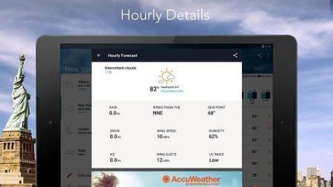 دانلود AccuWeather؛ بهترین نرمافزار پیشبینی وضعیت آب و هوا