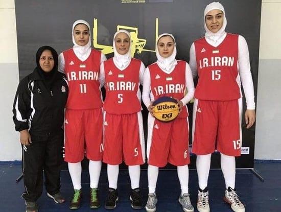 پیروزی تیم ملی بسکتبال سه نفره ایران مقابل ازبکستان!