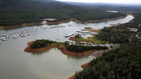پایان خشکسالی یک دریاچه!