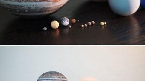 کهکشان ها در شیشه