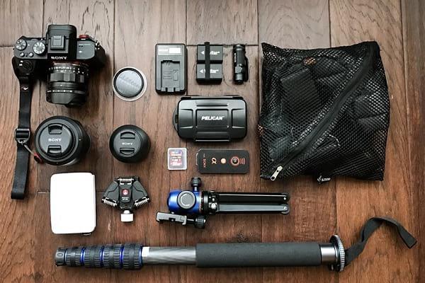 تجهیزات عکاسی در سفر!