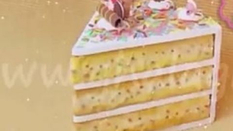 کاردستی آموزش جعبه فانتزی شکل برش کیک!