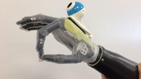 دست مصنوعی دوربین دار (2)