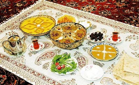 سفره افطار (1)