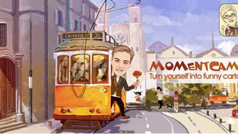 با دانلود MomentCam؛ عکس های خود را شبیه شخصیت های کارتونی کنید