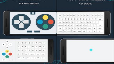 تبدیل گوشی به موس، دسته بازی و کیبورد با دانلود WiFi Mouse Pro