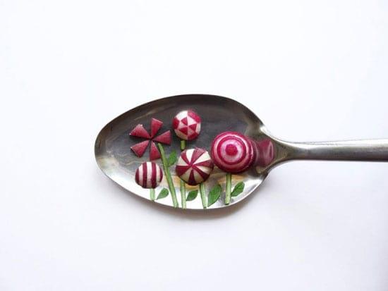 هنرنمایی با غذا (4)