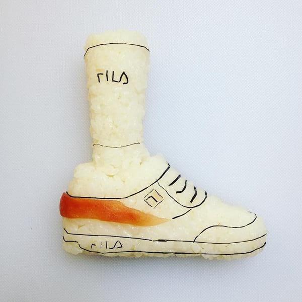 کفش های سوشی!