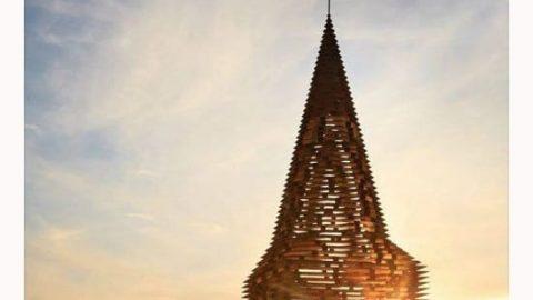 کلیسایی با معماری خلاقانه!