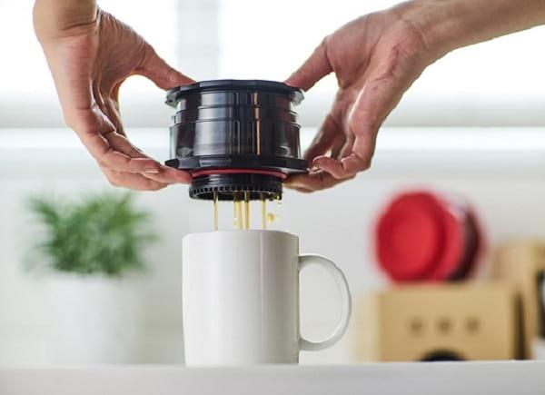 اسپرسوساز کفلانو؛ قهوه ساز سفری منحصر به فرد
