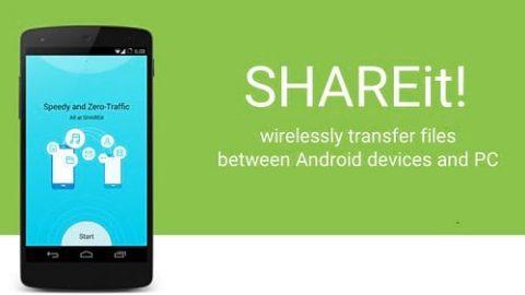 دانلود ۳٫۸٫۲۵ SHAREit؛ انتقال سریع فایلها بین گوشی و کامپیوتر