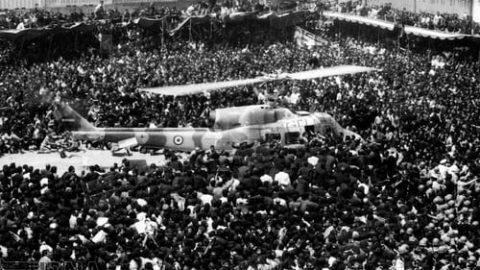 تشییع جنازه تاریخی حضرت امام خمینی (ره)